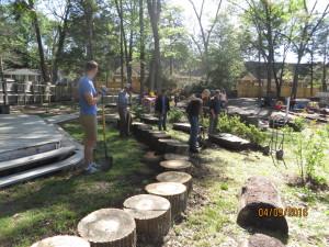 log seating 3