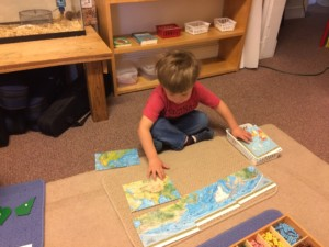 Assembling the world map